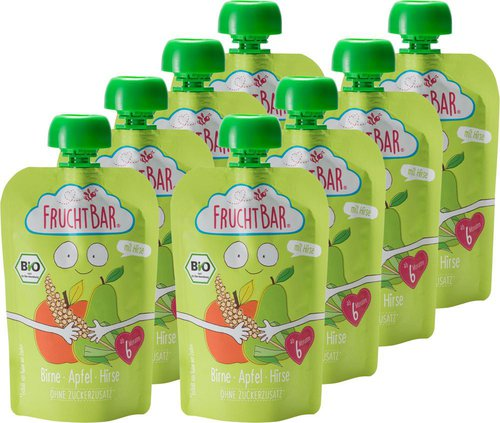 Frucht Bar Bio-Fruchtpüree (90 g)