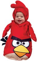 Halloween Gore Store Angry Birds Babykostüm rot