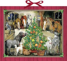 Felix Thea Ross - Pferde-Weihnacht Adventskalender