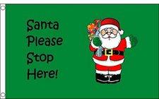 Weihnachtsmann Fahne