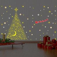 Weihnachtsmann Wandtattoo