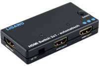 Ligawo 6518402 HDMI Switch 2x1 3D 1080p