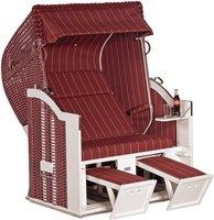 SONNENPARTNER Classic Strandkorb Halbliegemodell (Dessin 143)