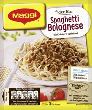 Maggi fix & frisch: Spaghetti Bolognese