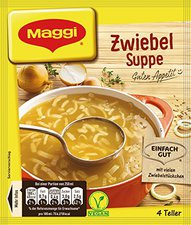 Maggi Guten Appetit: Zwiebel Suppe