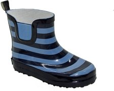 Playshoes Baby Gummistiefel Ringel marine/hellblau
