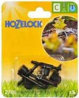Hozelock Durchgangs-Minisprinkler einstellbar 5 Stk (2786)