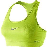 Nike Pro Damen Sport-BH gelb