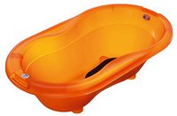 Rotho-Babydesign Badewanne Top translucent orange