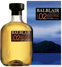 Balblair Vintage 2002 0,7l 46%