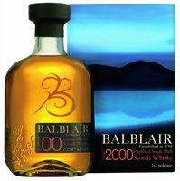 Balblair Vintage 2001 0,7l 46%