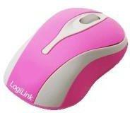 LogiLink Optische Mini USB LED Maus (pink)