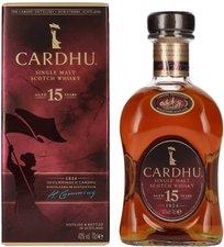 Cardhu 15 Jahre 0,7l 40%