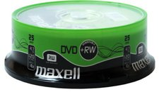 Maxell DVD+RW 4,7GB 120min 4x 25er Spindel