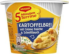 Maggi 5 Minuten Terrine Kartoffelbrei Crème fraîche
