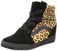 Vans Sk8-Hi Wedge leopard black