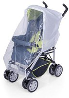 Your Baby Komfort Regenschutz für Sportwagen und Buggys mit Reißverschluss
