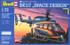 Revell Eurocopter BK 117 Space Design (04833)