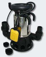 Wiltec Edelstahl-Tauchpumpe 11000 l/h 650 W (50785)