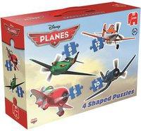 Jumbo Disney Planes 4 in 1 Konturenpuzzle