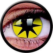 ColourVue Funny Lens Yellow Star (2 Stk.)