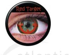 ColourVue Funny Lens Red Target (2 Stk.)