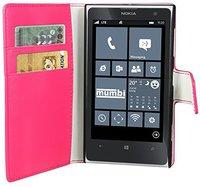 Mumbi Bookstyle Ledertasche (Nokia Lumia 1020)