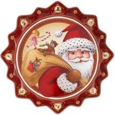 Villeroy & Boch Toys Fantasy Santa liest vor Gebäckteller groß