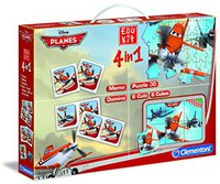 Clementoni Edukit 4 in 1 Planes