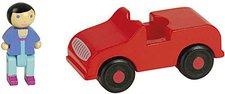 JeuJura Rotes Fahrzeug mit Figur (8083)