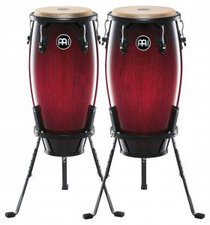 "Meinl Headliner Conga Set Wine Red Burst 11 "" & 12 """