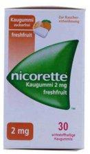 Pharma Gerke Nicorette 2 mg Freshmint Kaugummi (30 Stk.)