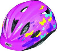 Abus Rookie Butterfly rosa