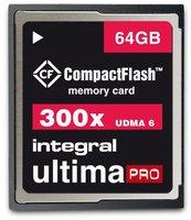 Integral Compact Flash UltimaPro 64GB 300x (INCF64G300W)