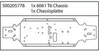 Carson X8 Specter Chassisplatte (205778)