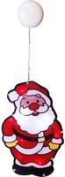 Star Trading LED Fenstersilhouette Weihnachtsmann