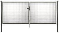 GAH Wellengitter-Doppeltor BxH: 298,8 x 125 cm