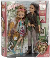 Mattel Ever After High -Ashlynn Ella and Hunter Huntsman