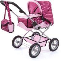 Bayer Design Kombi-Puppenwagen Grande pink