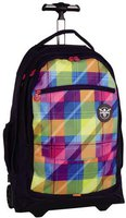 Chiemsee Wheely Trolley-Rucksack plaid blazing
