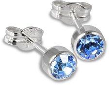 SilberDream Zirkoniastecker blau (SDO503H)