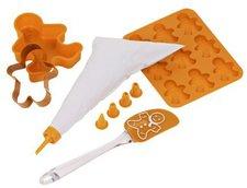 Premier Housewares Kinder-Backset Gingerbread Man 5-teilig