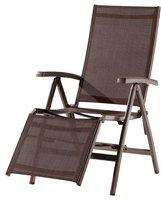 Sieger Bodega Relaxsessel (Alu/Textil) marone/mocca