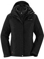Vaude Women's Kintail 3 in 1 Jacket II Black