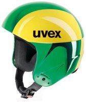 Uvex Race 2 gfk greenchrom/yellow