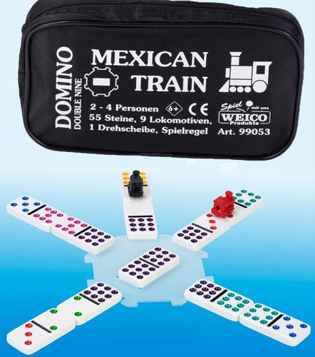 Weico Domino Mexican Train