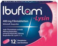 Winthrop Ibuflam-Lysin 400 mg Filmtabletten (12 Stk.)