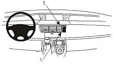 Brodit ProClip Citroen C8 Bj. 02-10