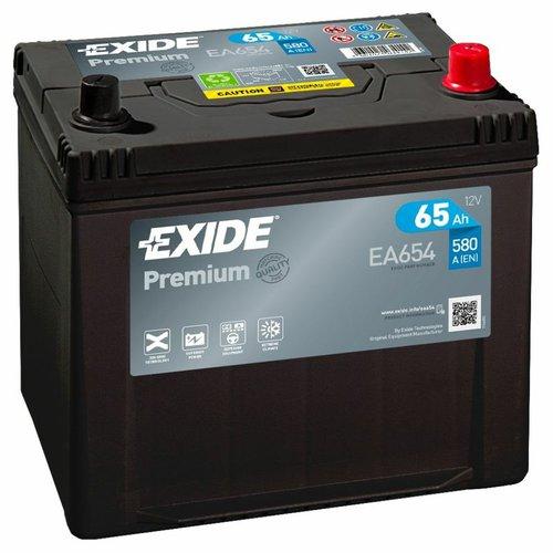 Exide Premium EA654 12V 65Ah