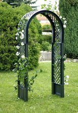 KHW Rosenbogen ohne Pflanzkasten grün (100 x 43 x 207 cm)